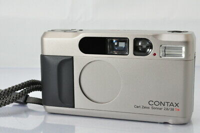 $ CDN1040.33 • Buy [EXCELLENT]Contax T2 35mm Point And Shoot Film Camera #4932