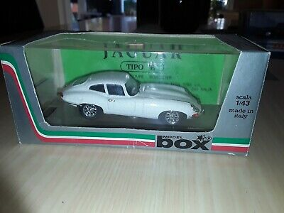 1/43 Scale Jaguar E Type Coupe 1962/64 By Box Of Italy. Part Of A Collection.  • 10£