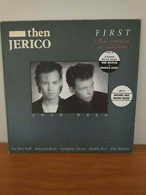 Then Jerico 'First (The Sound Of Music)' 12  Vinyl With Original Poster • 2£