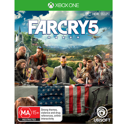 AU18 • Buy Far Cry 5 Preowned - Xbox One - PREOWNED