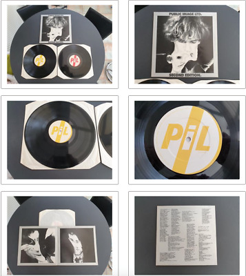 Public Image Ltd Second Edition 1979 Uk Press 2 X 12  Vinyl Record Lp • 14.90£