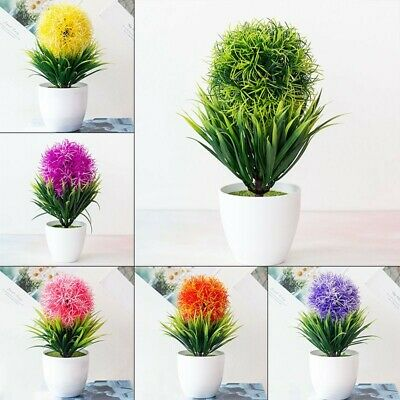 $ CDN15.22 • Buy Artificial Lotus Flower Plants Pot Home Wedding Party House Office Decor