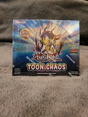 Yugioh Toon Chaos Booster Box 1st Edition - Brand New Sealed Yu-Gi-Oh Cards  • 165£