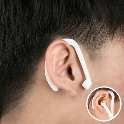 $ CDN2.93 • Buy 1Pair Ear Hooks Cover Holder For Apple AirPods IPhone Earphones Strap Silicone