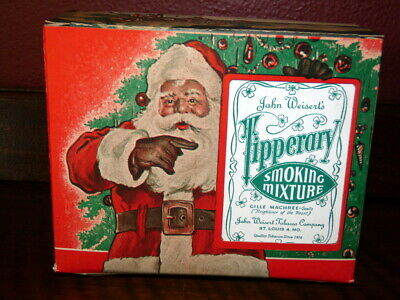 $ CDN27.78 • Buy  Vintage 1940s Christmas Tipperary Santa Tobacco Advertising Display Box Only