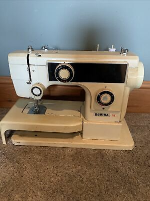 Pfaff Dorina 75 Vintage Zig-zag Sewing Machine • 19.99£