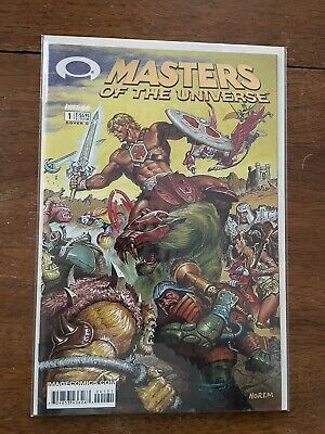 $10 • Buy THE MASTERS OF THE UNIVERSE #1C NM (Image 2002) Gold Foil