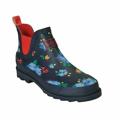Womens Regatta Harper Slip On Clogs Ankle Wellington Boots Wellies Rebel Red • 23.95£
