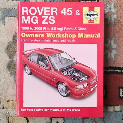 Hayne Service And Repair Manual For Rover 45 & MG ZS • 0.99£