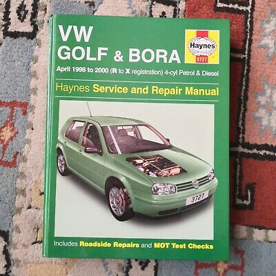 Hayne Service And Repair Manual For MK4 VW Golf And Bora • 0.99£