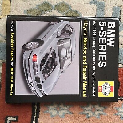 Hayne Service And Repair Manual For BMW 5 Series E39 • 0.99£