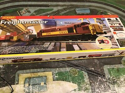 Hornby Boxed Freight Master R1054 00 Gauge Electric Train Set, Fully Working Set • 64£