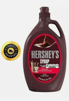 £9.49 • Buy Hershey's Syrup Chocolate Flavour Fat Free - 1.36kg