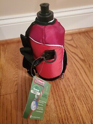 $9.99 • Buy RED Coleman 1 Liter Insulated Water Bottle Jug NEW