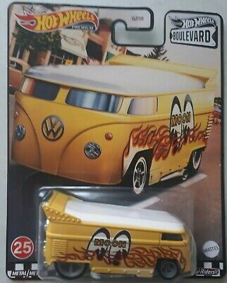 AU25.95 • Buy Hot Wheels Boulevard Volkswagen Drag Bus Mooneyes