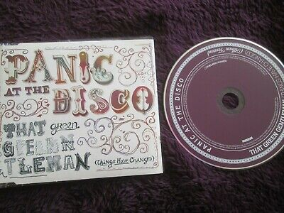 Panic At The Disco Promo That Green Gentleman (Things Have Changed) CD Single • 13.25£