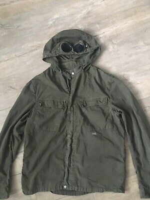 Cp Company | 3xL XXXL Goggle Lens OverShirt Jacket Coat Shirt Detachable Hoodie • 200£