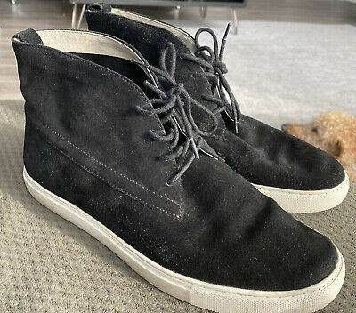 Women's Kenneth Cole Black Suede High-Top Shoes Size 91/2 Comfortable Support • 11.94£