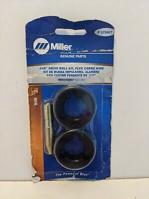 $110.34 • Buy MiIller Mig Weller  079607 Drive Roll Kit .045 Flux Cored Wire Millermatic...
