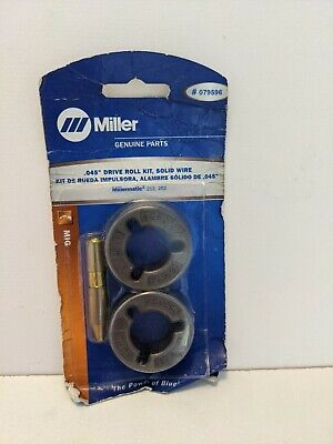 $110.34 • Buy MiIller Mig Weller  079596 Drive Roll Kit .045 Solid Wire Genuine 212 252