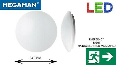 £23.99 • Buy LED EMERGENCY LIGHT WALL Ceiling 16.5W BULKHEAD MAINTAINED Non-MAINTAINED 3HR
