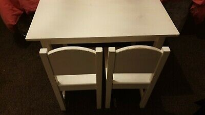 IKEA Sundvik Kids Table With 2 Chairs • 35£
