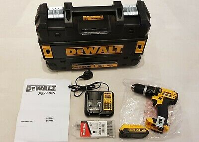 New Dewalt 18v Drill Lot Dcd785 Xr Kit Battery T-stack Power Tools Hand Tools • 119.99£