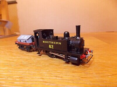 KIT BUILT LSWR CLASS B4 0-4-0T LOCO No 82 SR Black Livery With Shunters Truck  • 108£