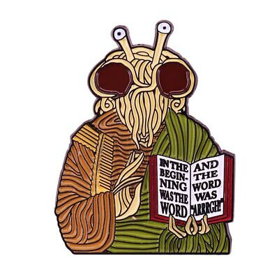 £4.99 • Buy Pastafarian Pin Flying Spaghetti Monster Religion Inspirational Quote Internet