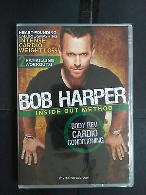 Bob Harper - Inside Out Method - Cardio Conditioning - DVD - NEW SEALED (J29) • 9.99£
