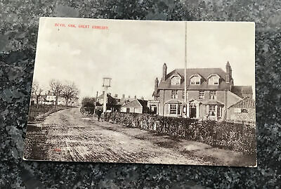 Old Postcard Of The Royal Oak Great Ormesby Norfolk • 1.25£