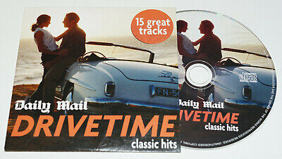 £1.99 • Buy Drivetime/Daily Mail Promo/CD/The Cars/Cher/Foreigner/Aretha Franklin/Shola Ama