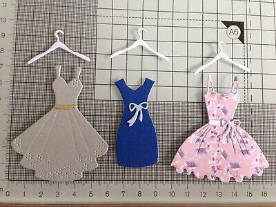 £2.95 • Buy Mothers Day Party Dress Die Cut Card Toppers