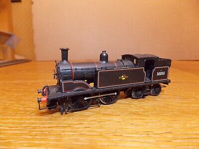 KIT BUILT LSWR CLASS M7 0-4-4T LOCO No 30055 BR Black Livery Portescap Motor 00g • 55£