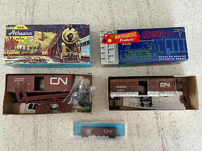 $ CDN37.82 • Buy Lot Of Vintage HO Scale CN Freight Trains With Box