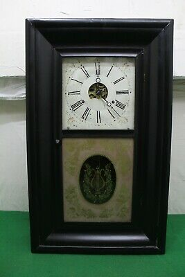 £69.95 • Buy Antique American Clock Co. Ogee Wall Clock For Repair