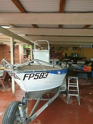 AU9000 • Buy  Boat,Victoria Savage Gannett 4.35m Centre Console Restoration Project Completed