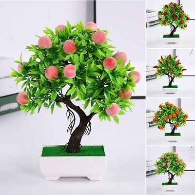 Families Artificial Plant Courtyards Shops Home Decoration Potted Creative • 7.81£
