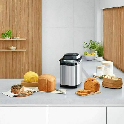 Panasonic SD-ZB2512KXC Bread Maker Fully Automatic, Stainless Steel, Gluten Free • 229.99£