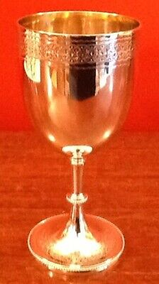 £365 • Buy Solid Silver Victorian Goblet London 1850 By Robert Harper