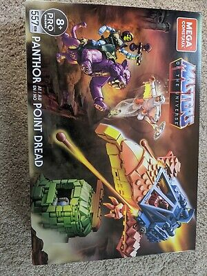 $13.50 • Buy Mega Construx Masters Of The Universe Panthor  Point Dread MOTU