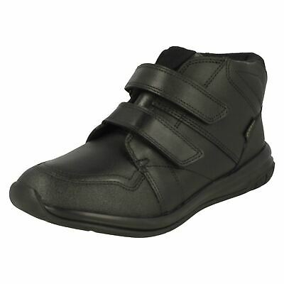 Clarks Sport Boys Inspired Hula Spin GTX High Rise School Shoes Boots Black 4.5G • 5.99£