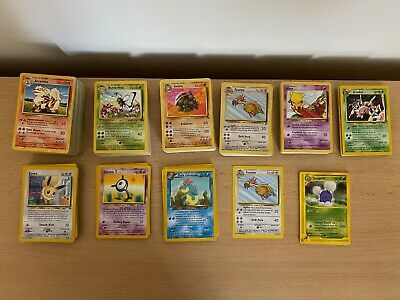 Assorted Jungle Set Pokemon Cards - Choose Your Own!!! • 1£