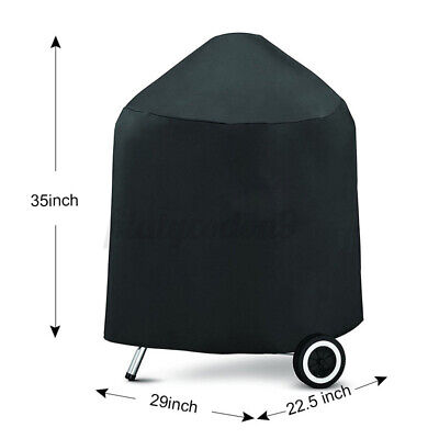 $ CDN17.13 • Buy BBQ Gas Grill Cover 35  Barbecue Waterproof Outdoor Protection For Weber 714