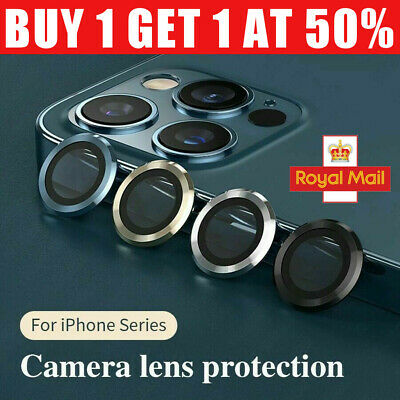 £5.99 • Buy For IPhone 12 Pro Max Mini Camera Lens Tempered Glass Metal Protector Ring Cover