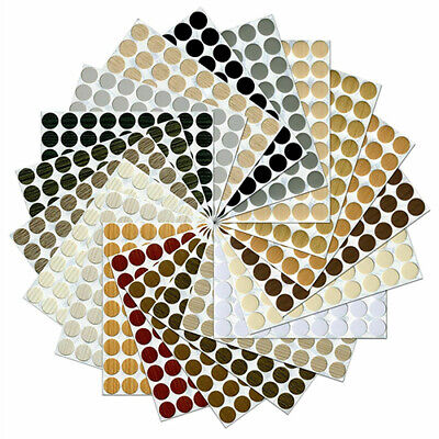 £1.70 • Buy Self Adhesive Screw Cover Caps Nail Decorative Cam Covers Ø13mm NEW HIGH QUALITY
