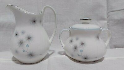 $ CDN30 • Buy Royal Doulton Thistledown Cream And Sugar Set W/Lid Excellent Condition