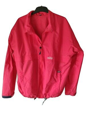 Mens GILL Red Lightweight Sailing Jacket Size M • 11.99£