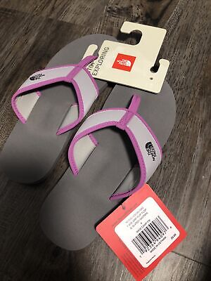 Youth The North Face Girls Base Camp Flip Flop Thong Sandals Size 4 • 15.74£
