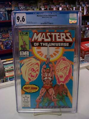 $110 • Buy MASTERS Of The UNIVERSE #1 (Marvel, 1986) CGC Graded 9.6! ~HE-MAN ~White Pages